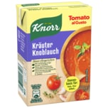 Knorr Tomato al Gusto Kräuter Knoblauch Soße 370 g