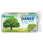 Danke Toilettenpapier 3-lagig aus 100% Recycling Papier 8x150 Blatt