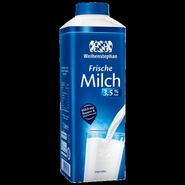 Weihenstephan Frische Alpenmilch 3,5% 1l
