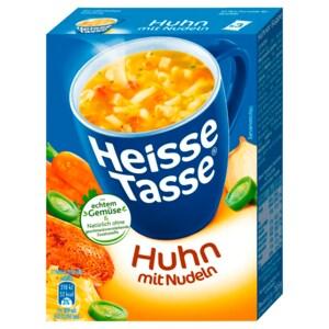 Erasco Heisse Tasse Huhn mit Nudeln 3x150ml