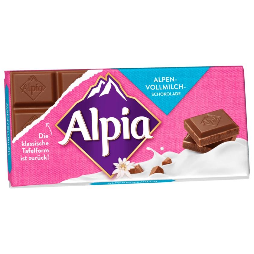 Alpia Alpenvollmilchschokolade 100g