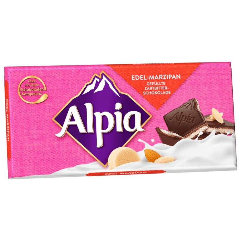 Alpia Schokolade Edel-Marzipan 100g