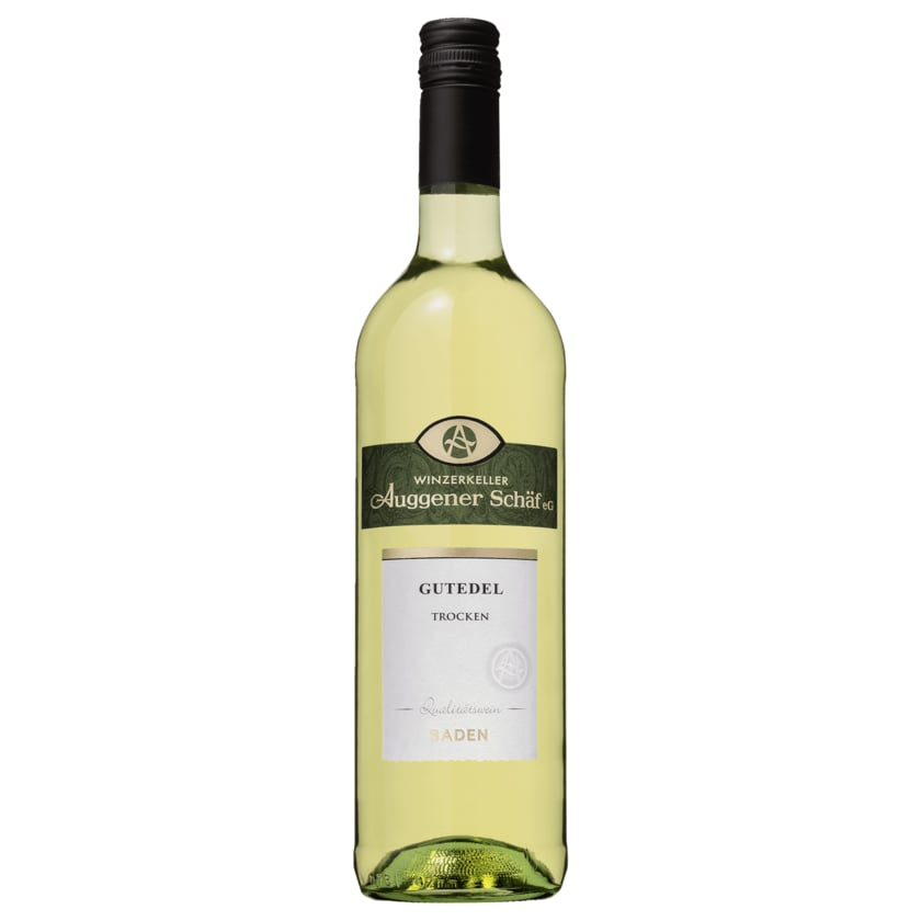 Auggener Schäf Weißwein Gutedel QbA trocken 0,75l