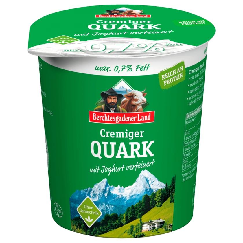 Berchtesgadener Land Cremiger Quark mit frischem Joghurt 0,2% 350g