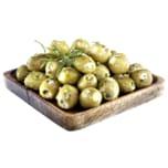 Palatum Große grüne Oliven mit Käse