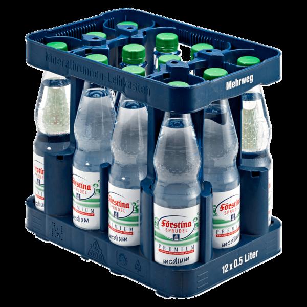 Förstina-Sprudel Premium Medium 12x0,5l
