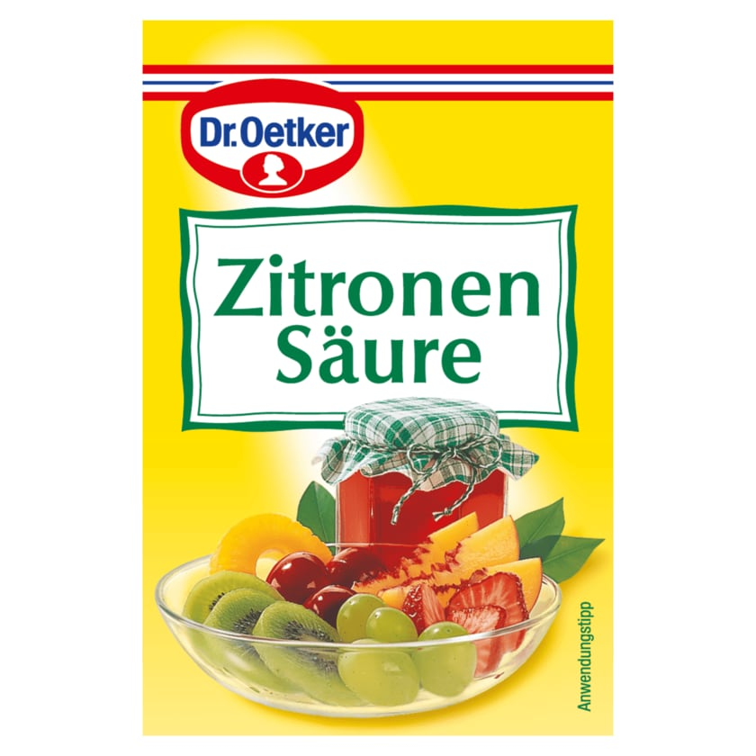 Dr. Oetker Zitronensäure 25g