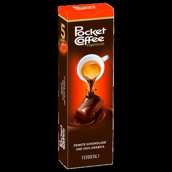 Pocket Coffee 5er Riegel 62g