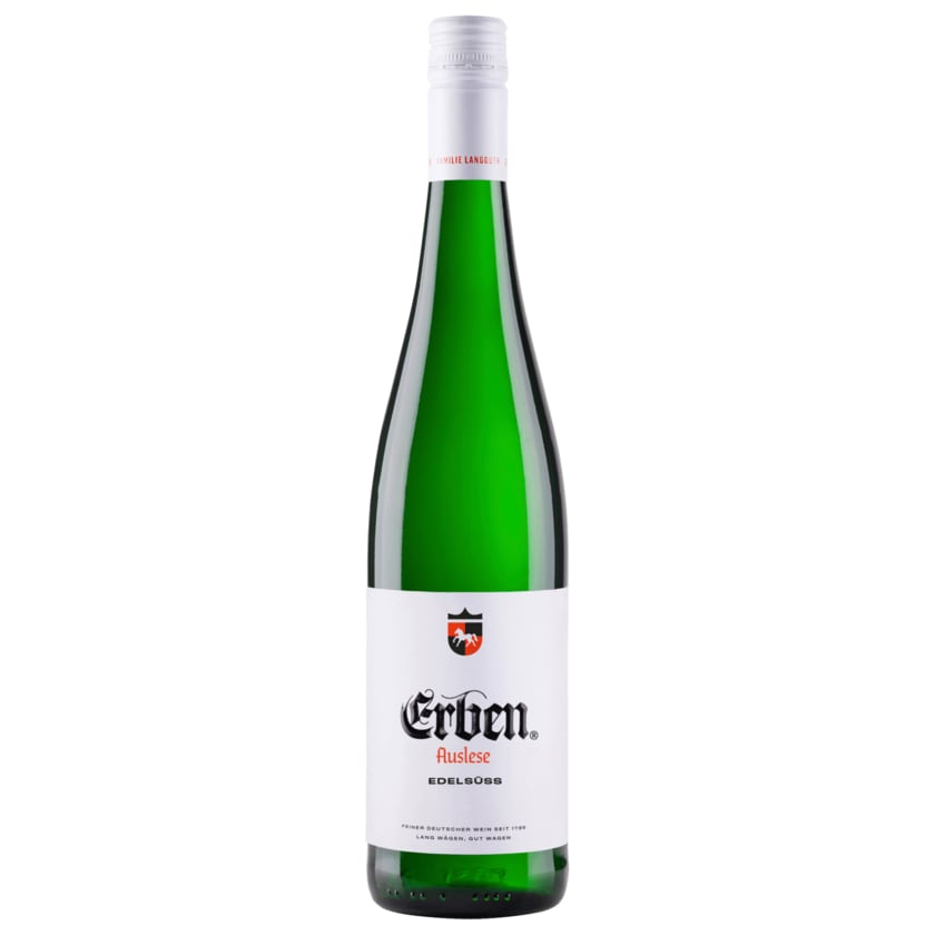 Erben Auslese Weißwein Huxelrebe Edelsüß 0,75l