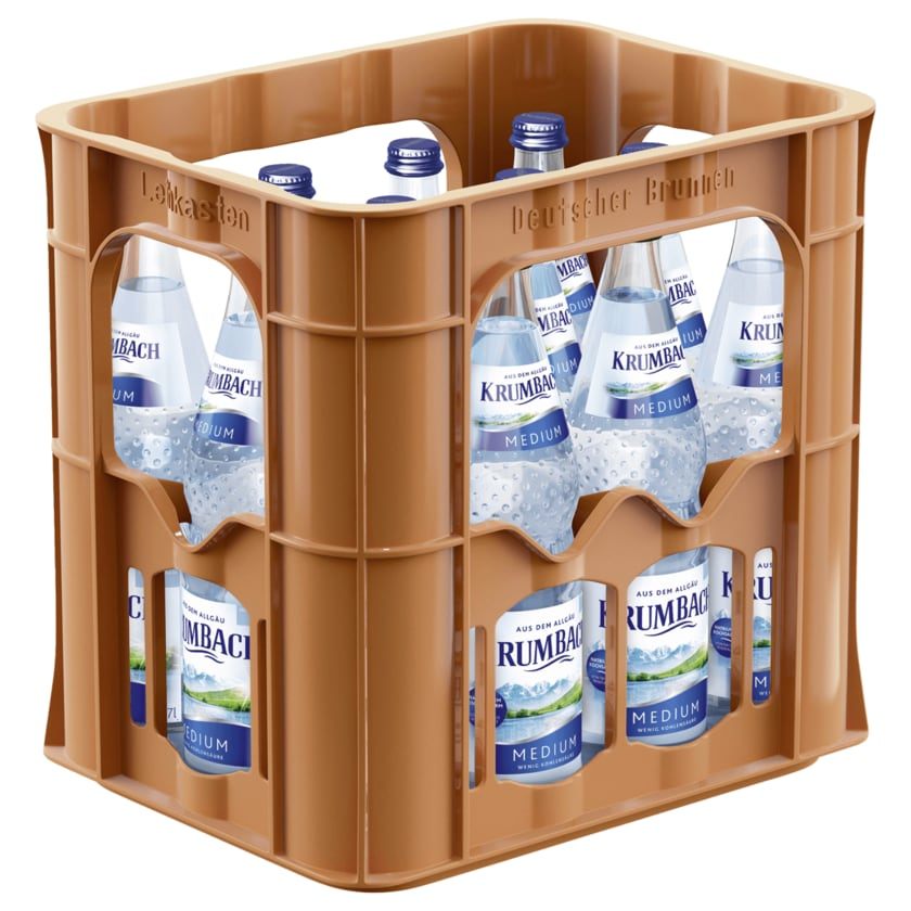 Krumbach Mineralwasser Medium 12x0,7l