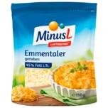 MinusL Emmentaler gerieben 150g