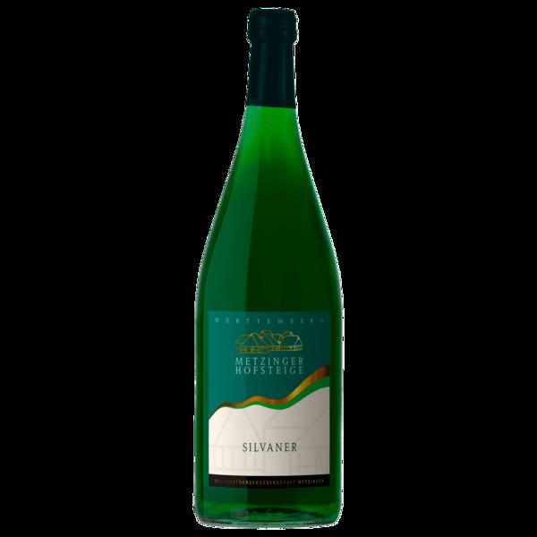 Metzinger Hofsteige Weißwein Silvaner QbA halbtrocken 1l