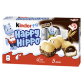 Kinder Happy Hippo Cacao 5 Riegel