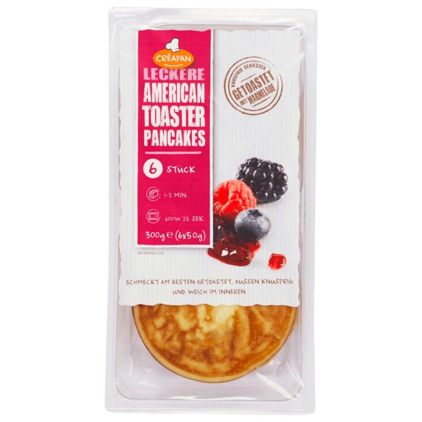 Creapan American Toaster Pancakes 300g