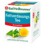 Bad Heilbrunner Fettverdauungs Tee 8 Stück