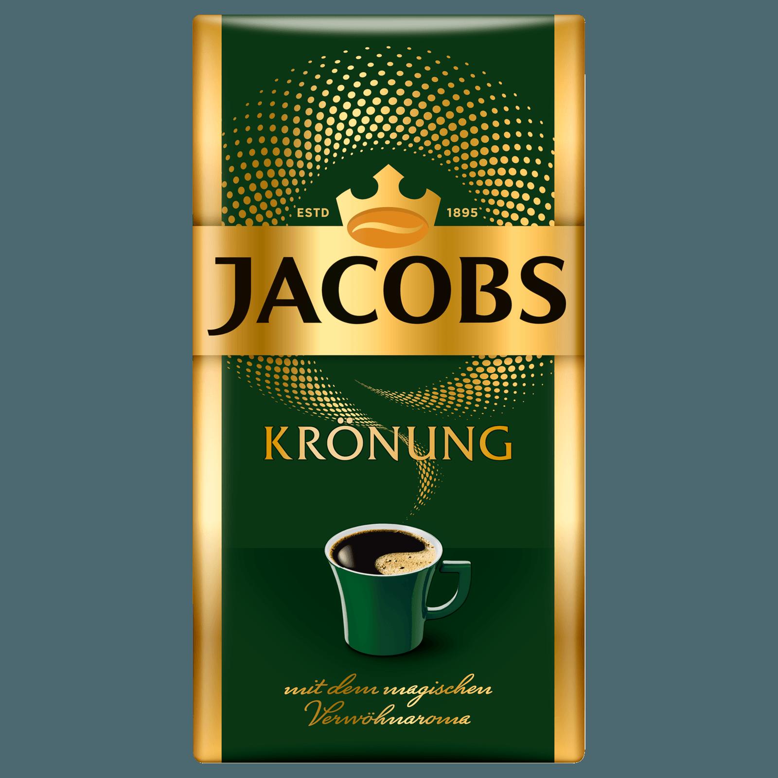 Jacobs Krönung klassisch Kaffee gemahlen 500g