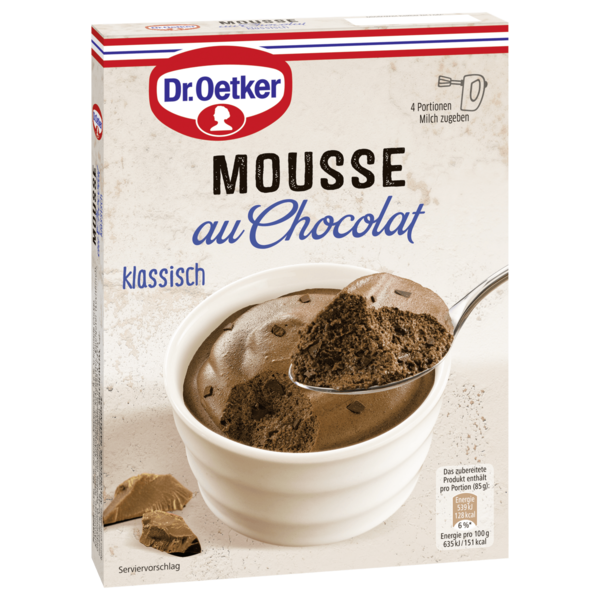 Dr. Oetker Mousse au Chocolat 92g