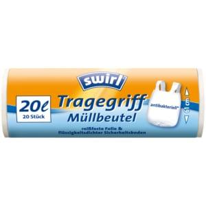 Swirl Tragegriff-Müllbeutel 20l, 20 Stück