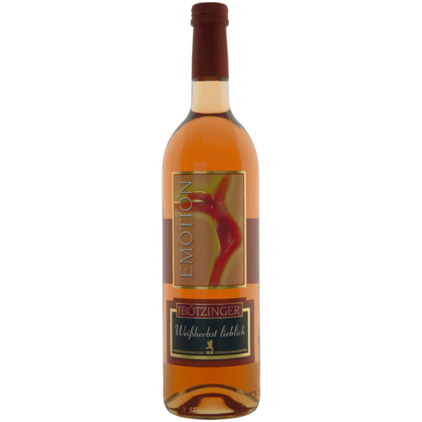 Der Bötzinger Emotion Weißwein Spätburgunder Weißherbst lieblich 0,75l