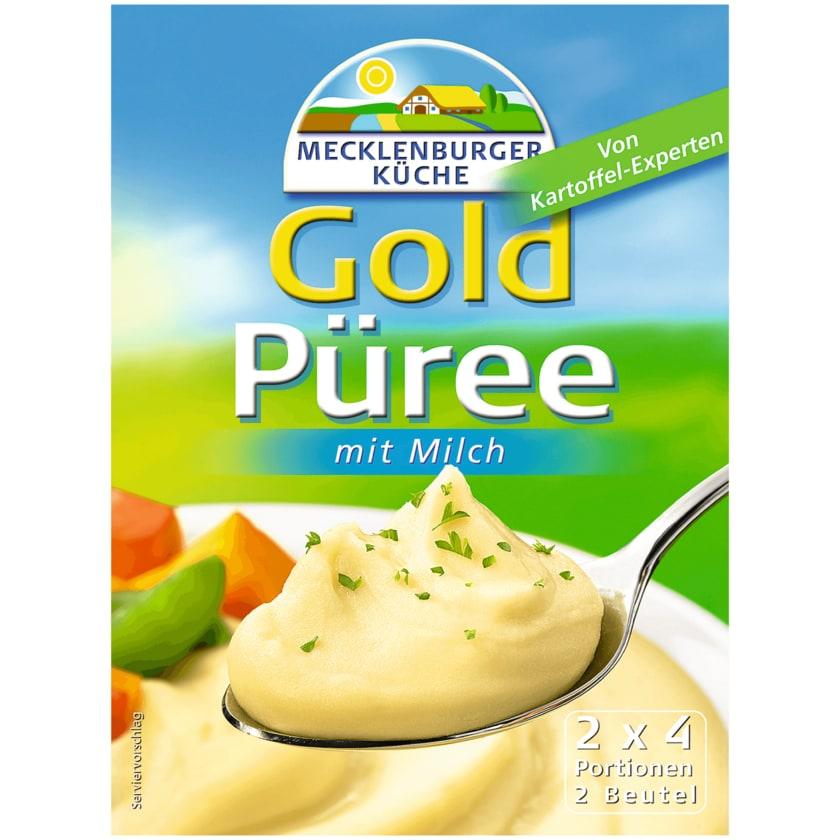 Mecklenburger Küche Goldpüree mit Milch 2x4 Portionen