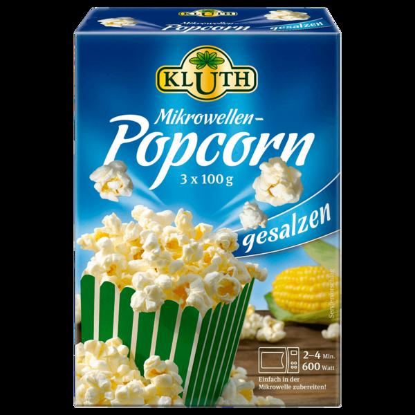 Kluth Mikrowellen-Popcorn gesalzen 3x100g