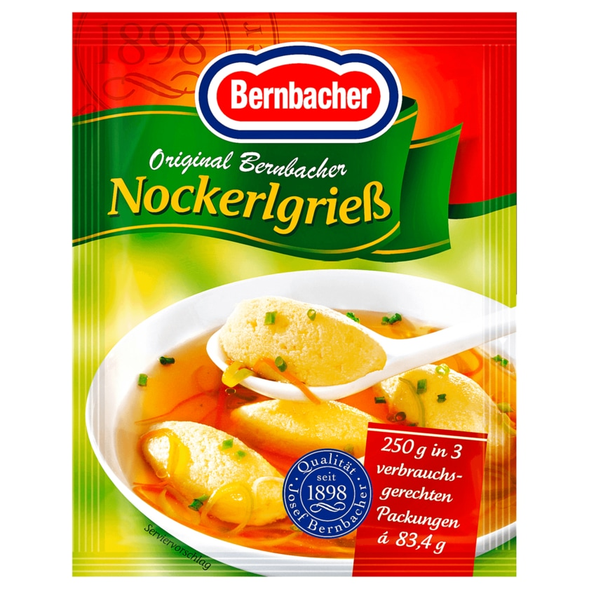 Bernbacher Nockerlgrieß 250g