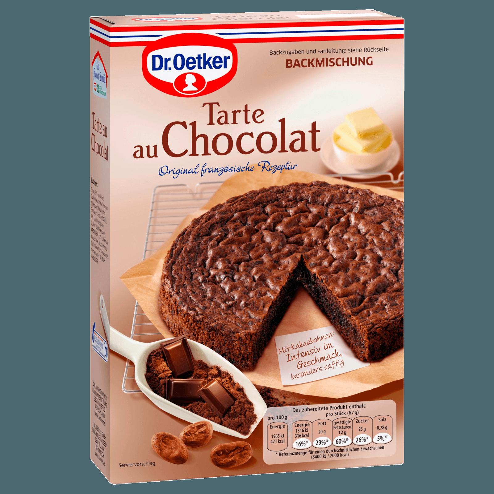 Dr Oetker Tarte Au Chocolat Schokoladenkuchen 470g Bei Rewe Online
