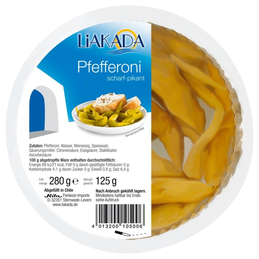 Liakada Pfefferoni scharf-pikant 125g