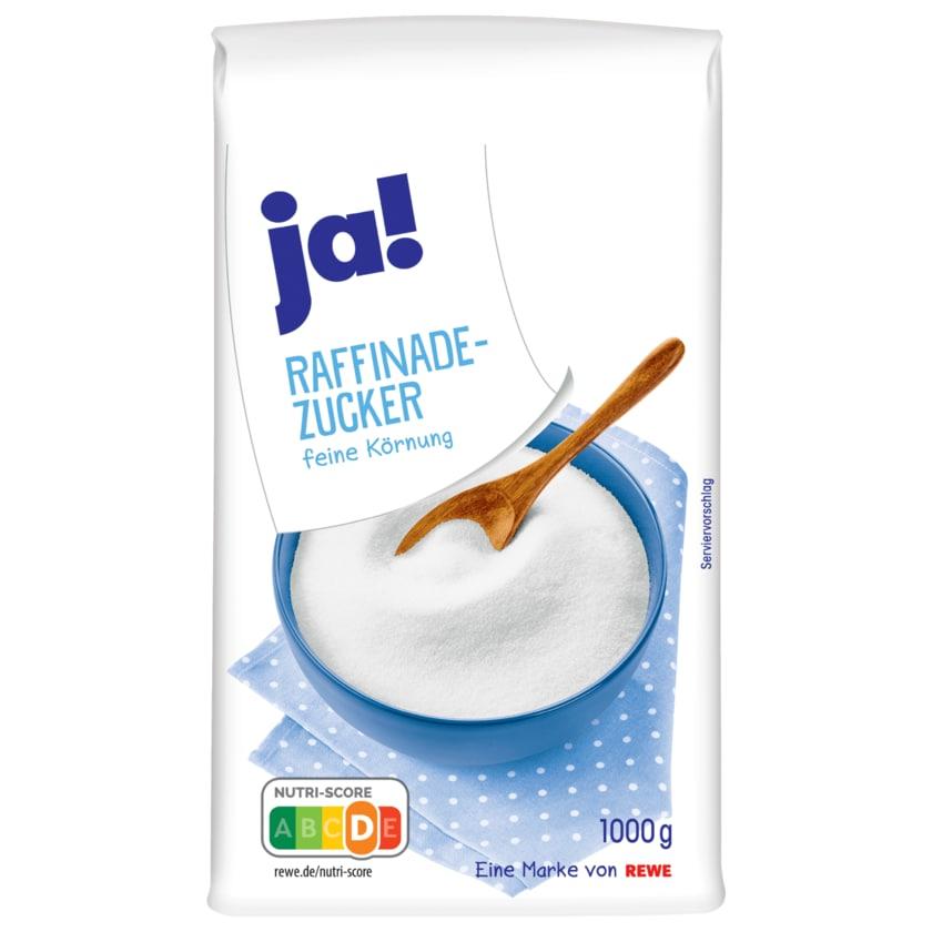 ja! Raffinade-Zucker 1kg