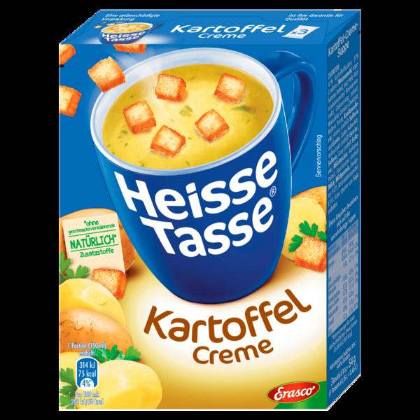 Erasco Heisse Tasse Kartoffelcreme 3x150ml