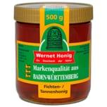Honig Wernet Deutscher Tannenhonig 500g