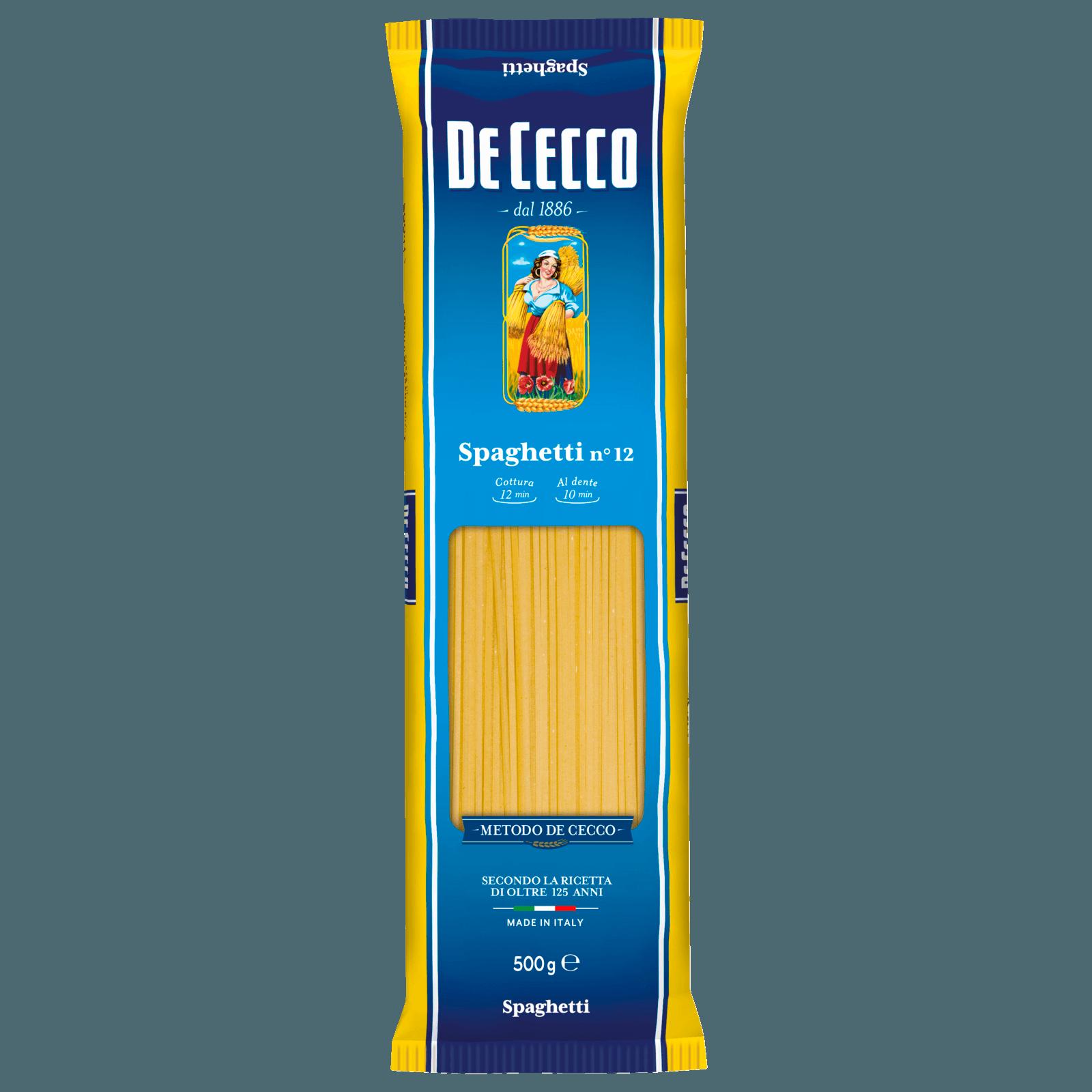 De Cecco Spaghettini 500g