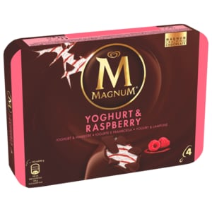 Magnum Yoghurt Fresh Familienpackung Eis 4x110ml