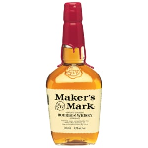 Maker's Mark Kentucky Straight Bourbon Whisky Handmade 0,7l