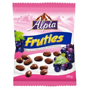 Alpia Fruties schokolierte Rosinen 200g