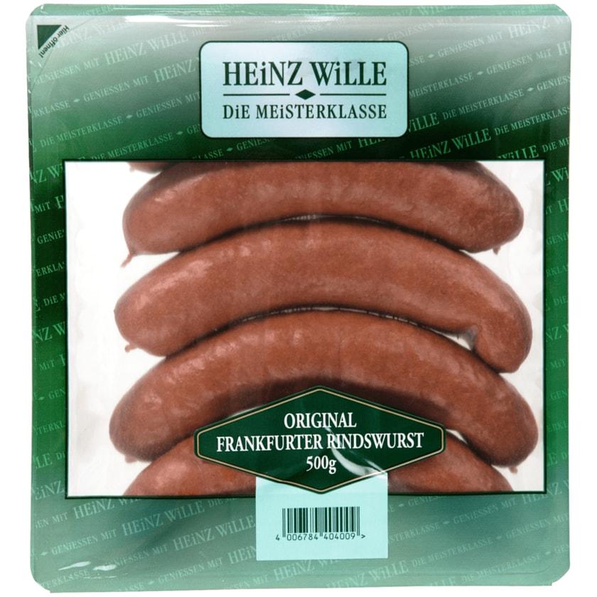Heinz Wille Original Frankfurter Rindswurst 5x100g