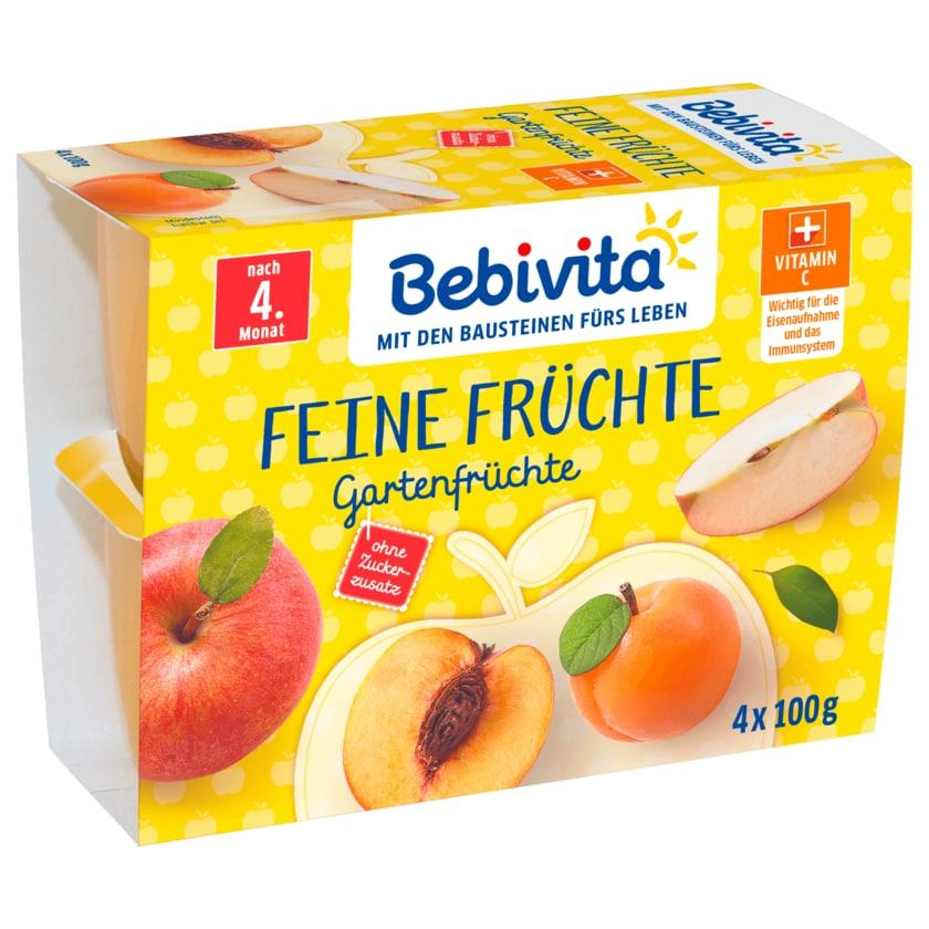 Bebivita Feine Früchte Gartenfrüchte 4x100g