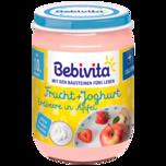 Bebivita Frucht & Joghurt Erdbeere in Apfel 190g