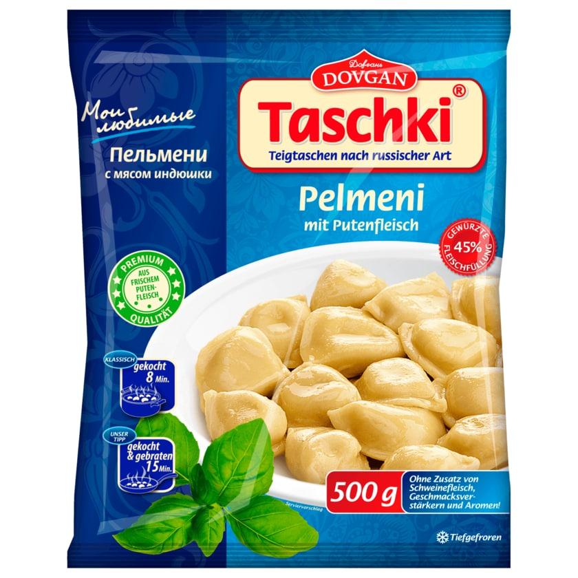 Dovgan Taschki Pelmeni mit Putenfleischfüllung 500g