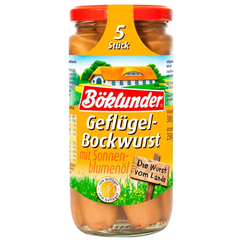 Böklunder Geflügel-Würstchen in Eigenhaut 250g