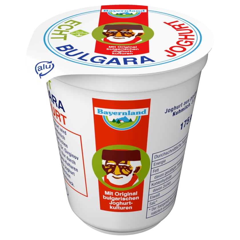 Bayernland Echt Bulgara Joghurt 175g