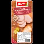 Herta Saftige Fleischwurst über Buchenholz geräuchert 250g