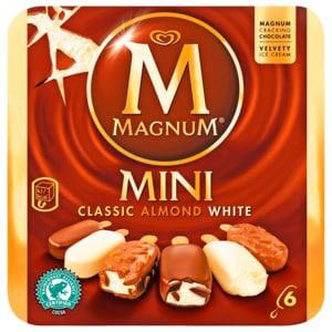 Magnum Mini Mix (Classic, Weiss, Mandel) Familienpackung Eis 6x60ml