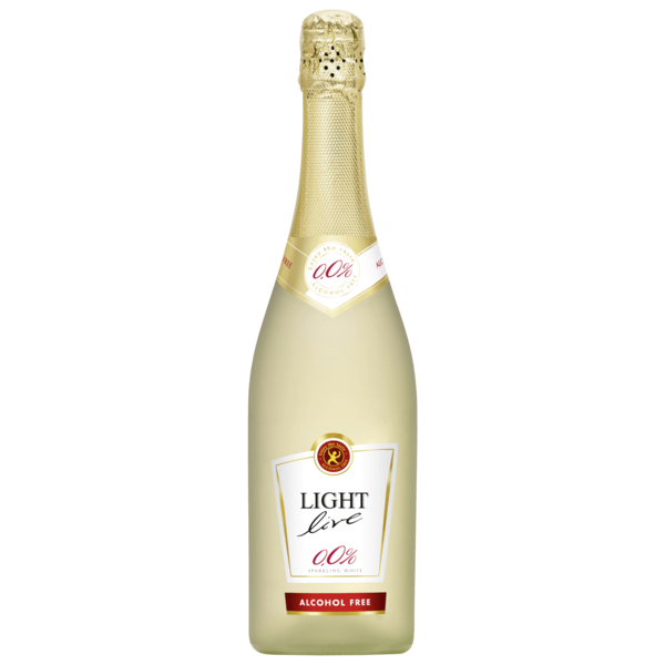 Light Live Sparkling weiß alkoholfrei 0,75l