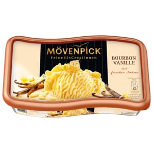 Mövenpick Eis Bourbon Vanille Familienpackung 900ml