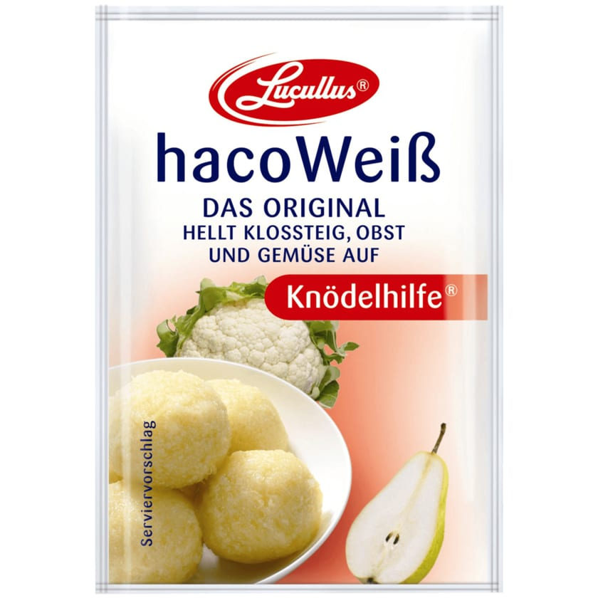 Lucullus HacoWeiß Knödelhilfe 5 Stück