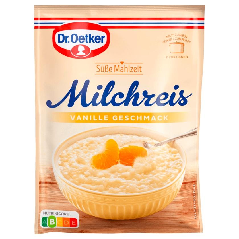 Dr. Oetker Milchreis Vanille-Geschmack 125g
