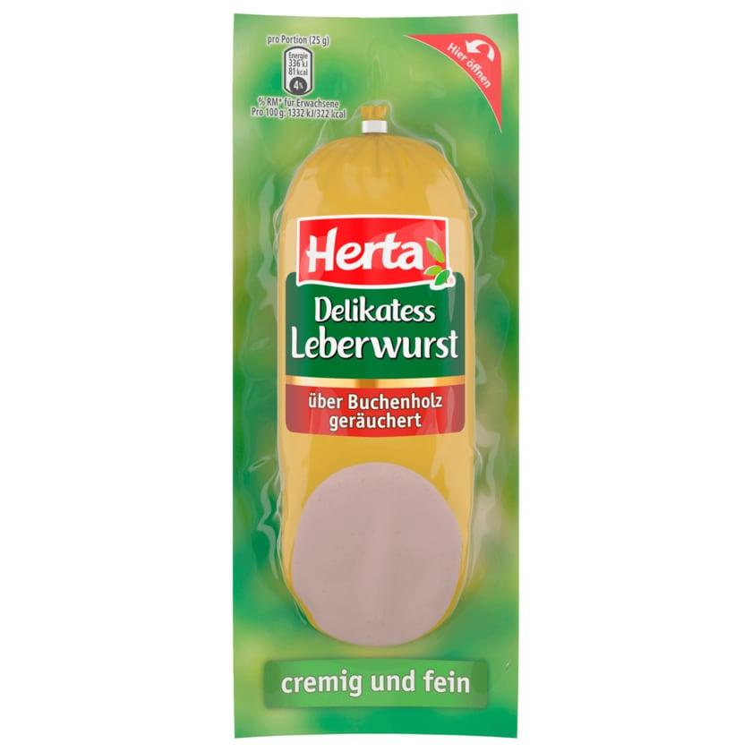 Herta Delikatess Leberwurst 250g
