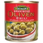 Feinkost Dittmann Oliven mit Chilicreme 85g