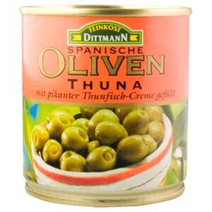 Feinkost Dittmann Oliven grün mit Thunfischcreme 85g